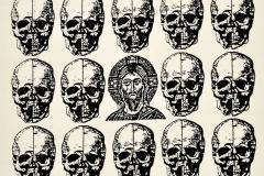 Cristo, 1985, collage, Ediçoes Exú