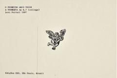 El primer ángel tocó la trompeta, Ap 8,7, 1987, collage Ediçoes Exú