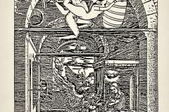 La Anunciación de María, 1986, collage, Ediçoes Exú