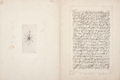 Seis poemas, 1977, V/VIII, libro de artista, punta seca, tapa