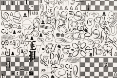 P3TR, 1980, xerografía, 32,8 x 21,3 cm.