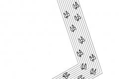 Sin título, de la serie Hombres, ca. 1979, xerografía, 33 x 21,5 cm