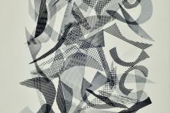 Castelos de vento,1980, 22/500, xerografía, 33 x 21,5 cm
