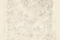 Sin título, 1978, punta seca, prueba de artista, II/IV 37x26 cm.
