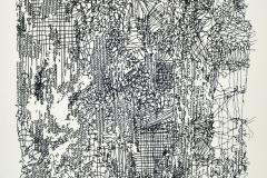 Sin título, 1984, serigrafía, prueba de artista 35,5x25 cm.