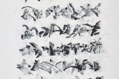Sin título, ca.1984, litografía, prueba de artista 57x38,5 cm.