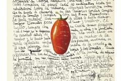 El hombre apareció, 1964  Tinta y collage sobre papel.  Colección familia Ferrari. Imagen Acuerdo FALFAA-CELS.