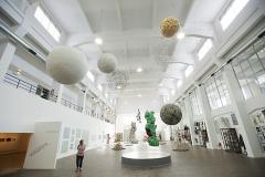 Exposición Taller, León Ferrari. Espacio de la Memoria Haroldo Conti