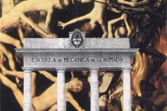 """Sin título, de la serie """"Nunca Más"""", ca. 1996  Collage sobre papel  29 x 20,6 cm  Colección Familia Ferrari"""